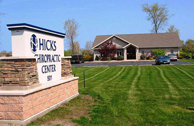 Chiropractic Michigan City IN Hicks Chiropractic Health Center Office Building