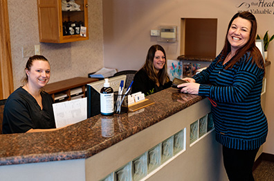 Chiropractic Michigan City IN Patient Check In