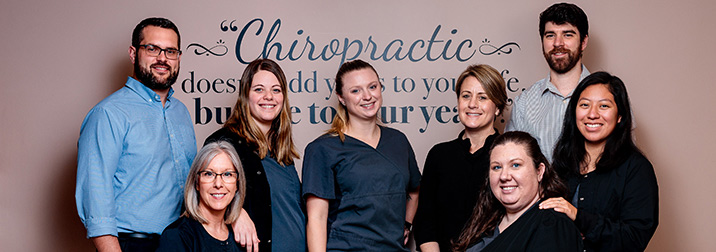 Chiropractor Michigan City IN Dr Grant Ferguson With Team About Us